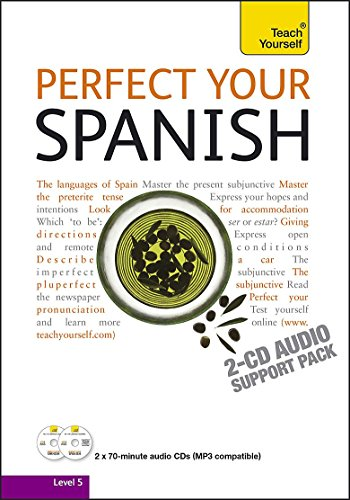 9781444102048: Teach Yourself Perfect Your Spanish: Audio Support (Teach Yourself Improve Your...)