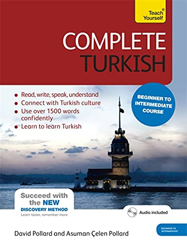 9781444102390: Complete Turkish Beginner to Intermediate Course: Learn to Read, Write, Speak and Understand a New Language: (Book and Audio Support) Learn to Read, ... Understand a New Language with Teach Yourself