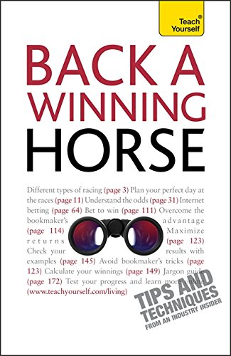 9781444102918: Back a Winning Horse (Teach Yourself)