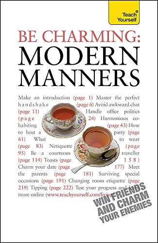 Be Charming: Modern Manners: How to win: Edward Cyster, Francesca