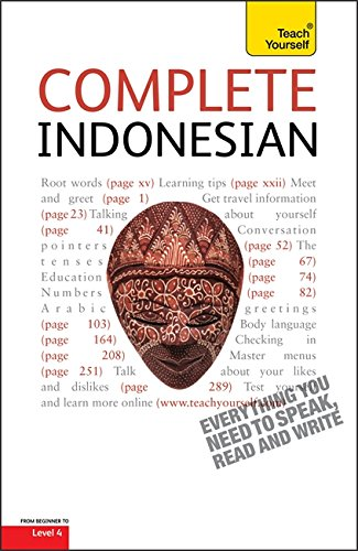 9781444103533: Complete Indonesian Beginner to Intermediate Course: Learn to read, write, speak and understad a new language with Teach Yourself