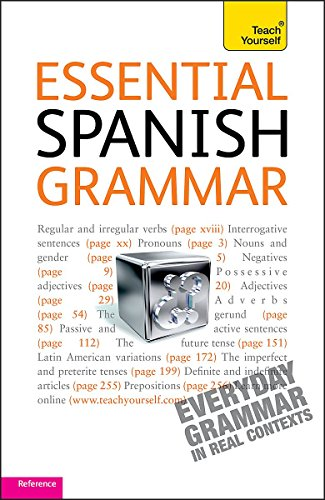 9781444103564: Essential Spanish Grammar: Teach Yourself