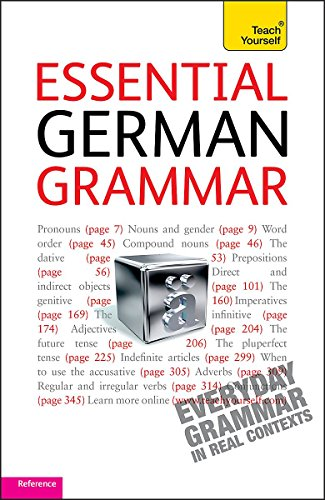 9781444103625: Teach Yourself Essential German Grammar (Teach Yourself Complete Grammar)