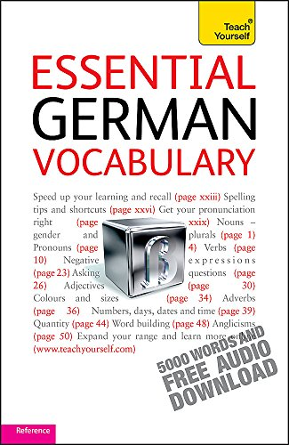 9781444103649: Teach Yourself. Essential German Vocabulary