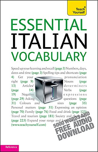 9781444103670: Essential Italian Vocabulary: Teach Yourself