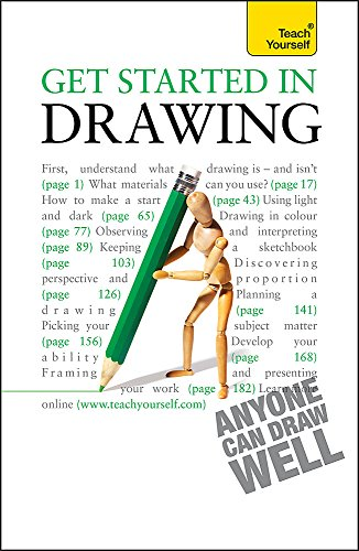 Get Started in Drawing: Teach Yourself (Teach Yourself General) - Robin Capon