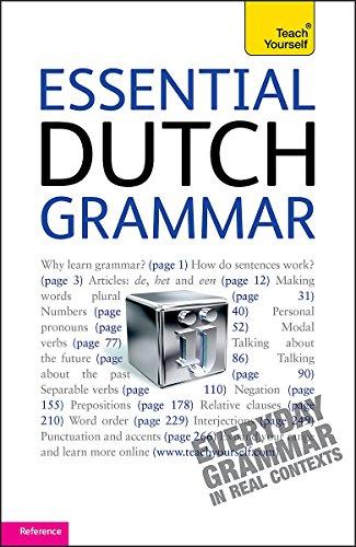 9781444103984: Teach Yourself Essential Dutch Grammar (Teach Yourself Complete Grammar)