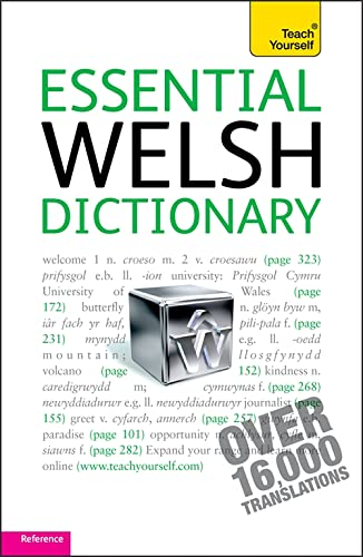 9781444104059: Essential Welsh Dictionary (Teach Yourself)
