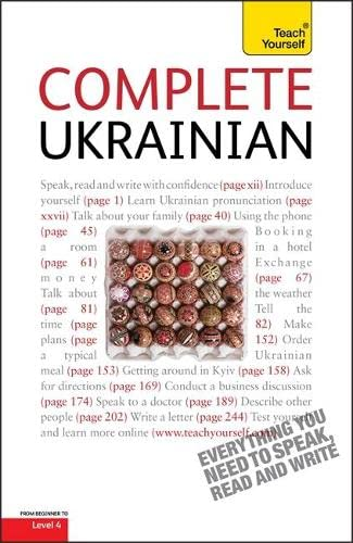 9781444104127: Teach Yourself Complete Ukrainian