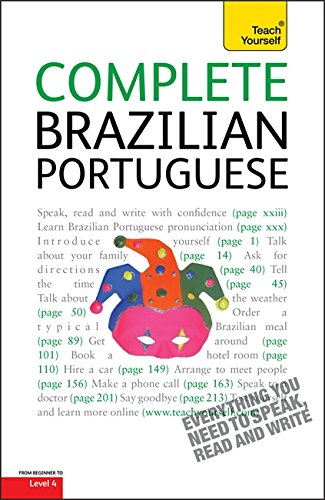 9781444104158: Complete Brazilian Portuguese Beginner to Intermediate Course: (Book only) Learn to read, write, speak and understand a new language with Teach Yourself