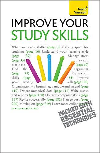 Improve Your Study Skills: Teach Yourself: Walmsley, Bernice