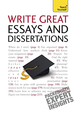 9781444105087: Write Winning Essays and Dissertations: Teach Yourself