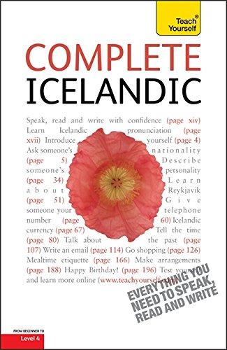 9781444105360: Teach Yourself Complete Icelandic