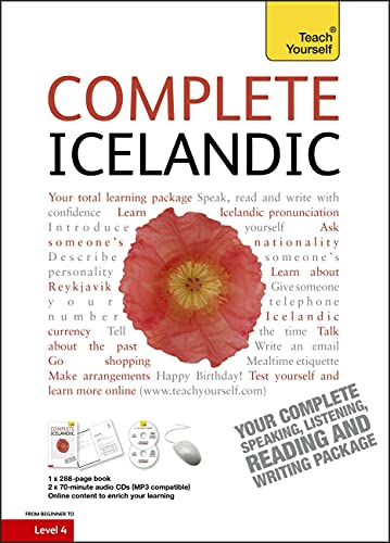9781444105377: Complete Icelandic Beginner to Intermediate Course: (Book and audio support) Learn to read, write, speak and understand a new language (Teach Yourself)