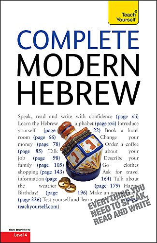 9781444105421: Complete Modern Hebrew Beginner to Intermediate Course: (Book and Audio Support) Learn to Read, Write, Speak and Understand a New Language with Teach Yourself (Teach Yourself Language)