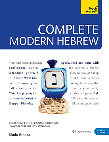 9781444105438: Complete Modern Hebrew Beginner to Intermediate Course: Learn to read, write, speak and understand a new language (Teach Yourself)