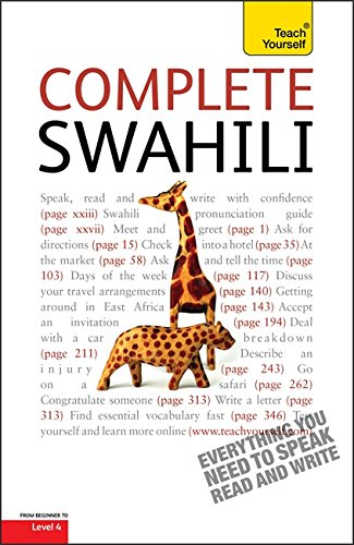 9781444105612: Complete Swahili Beginner to Intermediate Course: Learn to Read, Write, Speak and Understand a New Language with Teach Yourself