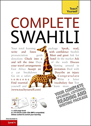 9781444105629: Complete Swahili Beginner to Intermediate Course: Learn to read, write, speak and understand a new language (Teach Yourself)