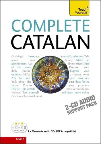 9781444105667: Complete Catalan Beginner to Intermediate Course: Learn to read, write, speak and understand a new language with Teach Yourself (Teach Yourself Complete)