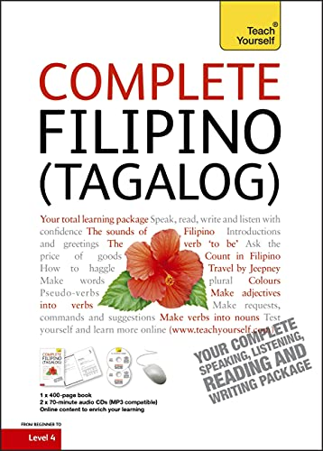 9781444105681: Complete Filipino (Tagalog) Beginner to Intermediate Book and Audio Course: Learn to Read, Write, Speak and Understand a New Language with Teach Yourself (Teach Yourself Complete)