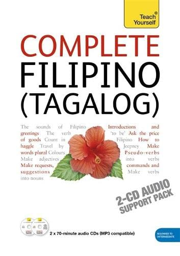9781444105698: Complete Filipino (Tagalog) Beginner to Intermediate Course: Audio Support: Learn to Read, Write, Speak and Understand a New Language with Teach Yourself (Teach Yourself Complete)
