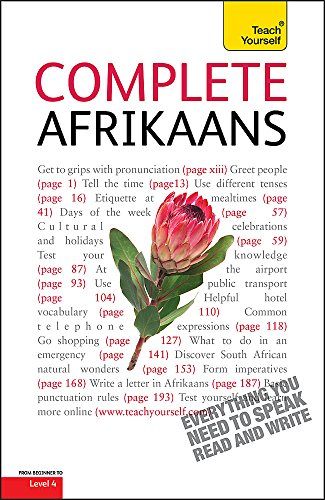 9781444105865: Complete Afrikaans Beginner to Intermediate Book and Audio Course: Learn to read, write, speak and understand a new language with Teach Yourself