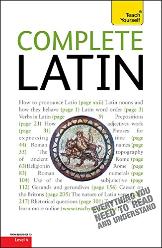 9781444105988: Complete Latin (Learn Latin with Teach Yourself)