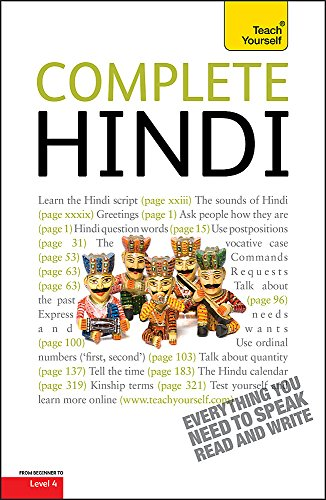 9781444106091: Complete Hindi (Teach Yourself)