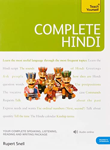 9781444106831: Complete Hindi Beginner to Intermediate Course: (Book and audio support) Learn to read, write, speak and understand a new language with Teach Yourself