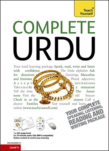 9781444106879: Complete Urdu Beginner to Intermediate Course: Learn to read, write, speak and understand a new language with Teach Yourself