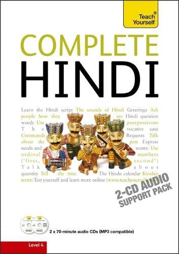 9781444106930: Complete Hindi Beginner to Intermediate Course: Audio Support: Learn to Read, Write, Speak and Understand a New Language with Teach Yourself