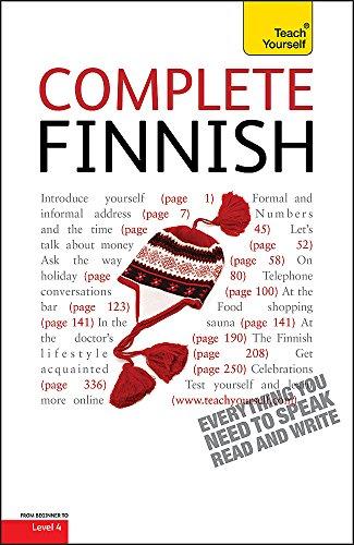 Complete Finnish (Learn Finnish with Teach Yourself): Leney, Terttu