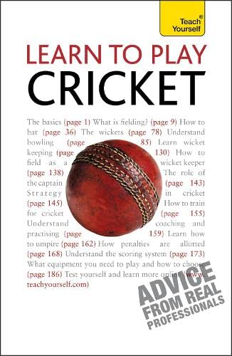 9781444107326: Learn to Play Cricket: Teach Yourself (Teach Yourself Sports & Games)