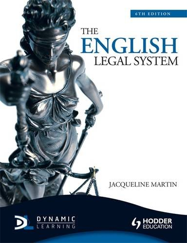 9781444107586: The English Legal System, 6th Edition