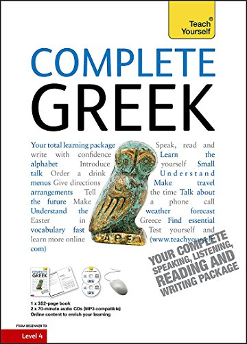 9781444107623: Complete Greek: Teach Yourself (Book/CD Pack)