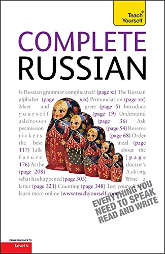 9781444107647: Teach Yourself Complete Russian