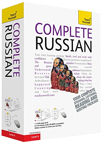 9781444107654: Complete Russian book/CD Pack: Teach Yourself