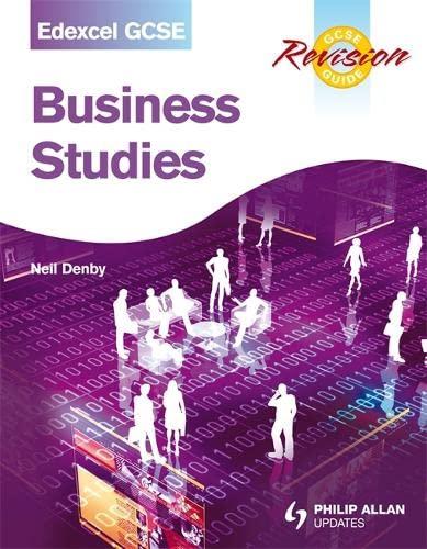 9781444107777: Business Studies: Edexcel Gcse, Revision Guide