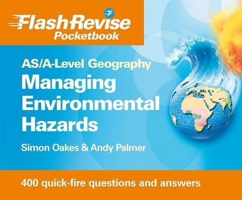 9781444107821: Managing Hazards & the Environment: As/A-level Geography (Flash Revise Pocketbook)