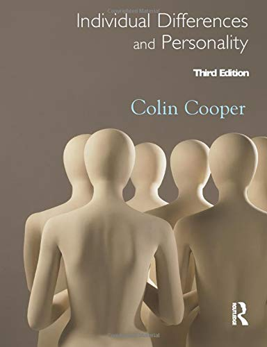 9781444108590: Individual Differences and Personality