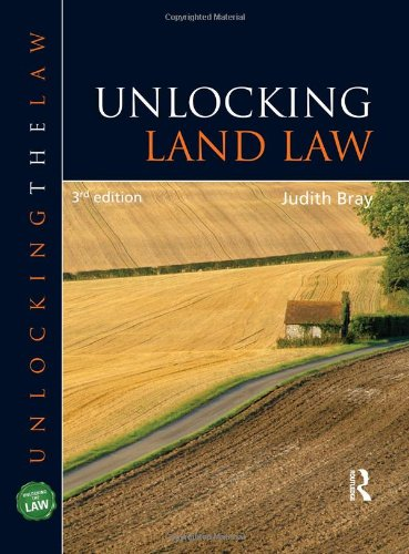 9781444109160: Unlocking Land Law (Unlocking the Law)