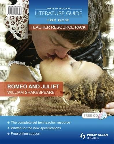 9781444110357: Romeo and Juliet: Philip Allan Literature Guide for GCSE: Teacher Resource Pack