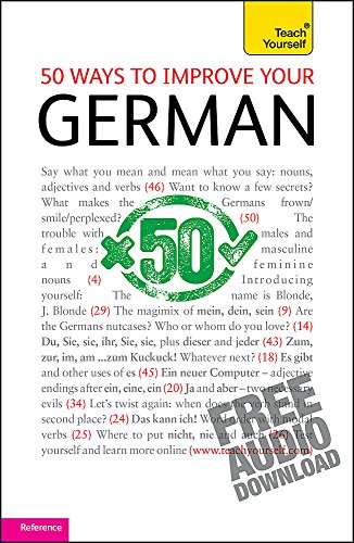 9781444110654: 50 Ways to Improve your German (Teach Yourself)