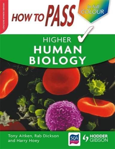 How to Pass Higher Human Biology Colour: Aitken, Tony