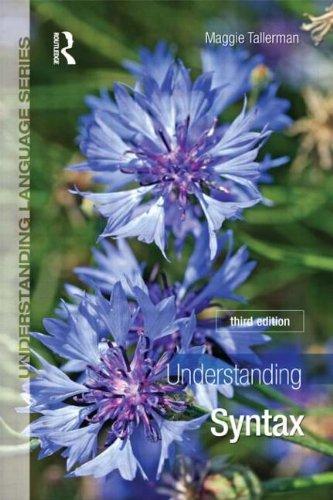 9781444112054: Understanding Syntax (Understanding Language)