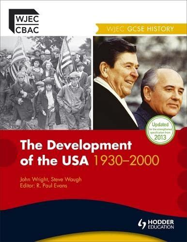 9781444112191: WJEC GCSE History: The Development of the USA 1930-2000 (WJHI)
