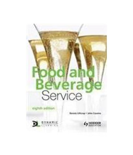 9781444112511: Food and Beverage Service Seventh Bookp