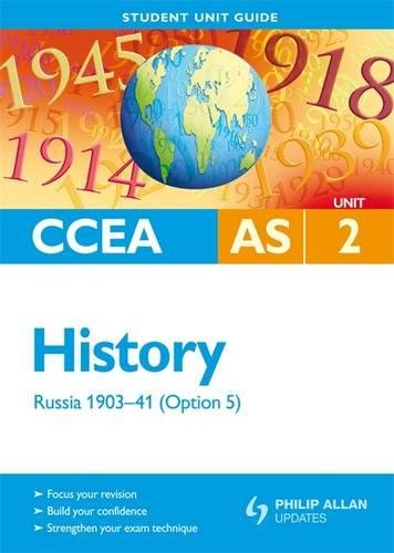 9781444112580: Russia 1903-41: Ccea As History Unit 2: Student Guide (Option 5)