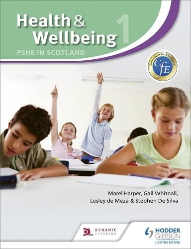 9781444112740: Health and Wellbeing 1: Pshe in Scotland (Cfe)
