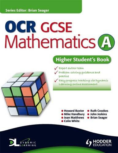 9781444112795: OCR GCSE Mathematics A - Higher Student's Book (Dynamic Learning)